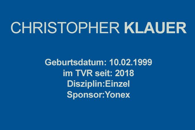 Christopher-Klauer