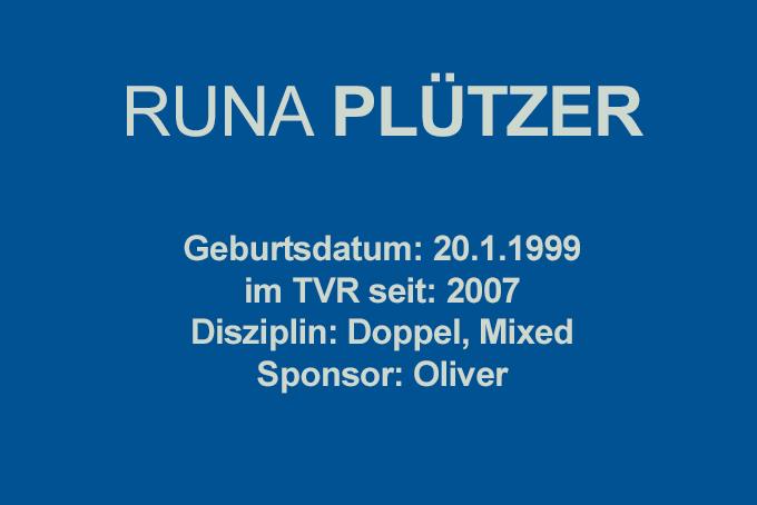 RUNA-PLÜTZER
