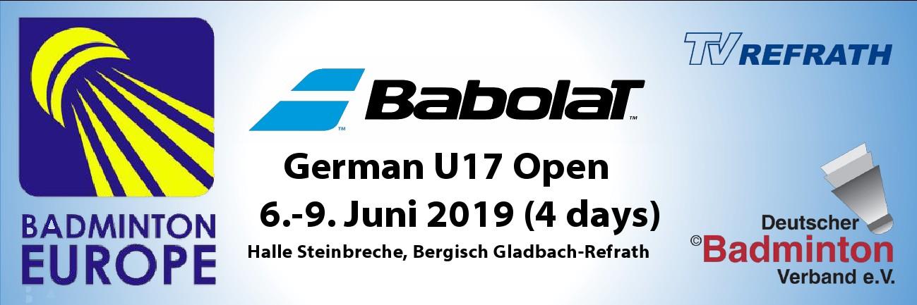 Banner für Homepage German Open2019