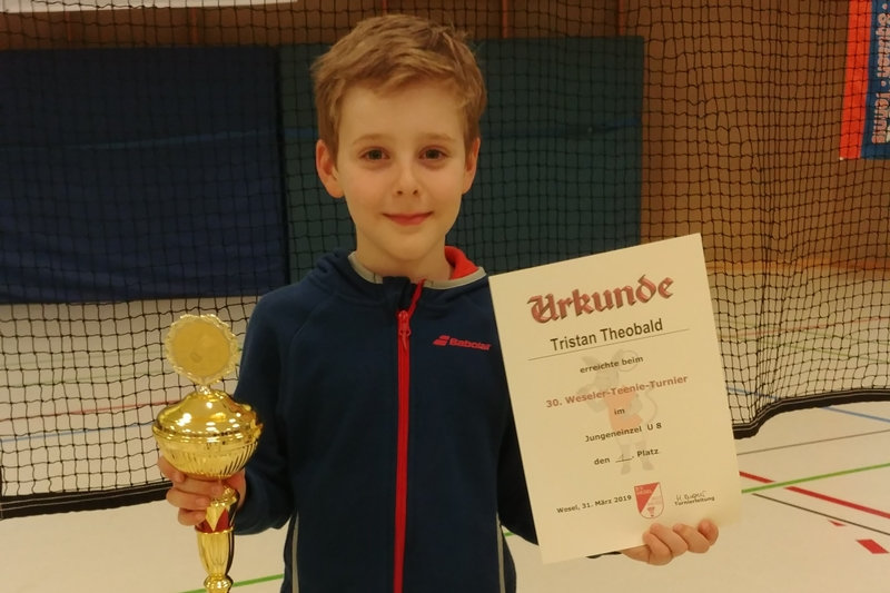Tristan Theobald und Nils Barion siegen in Wesel