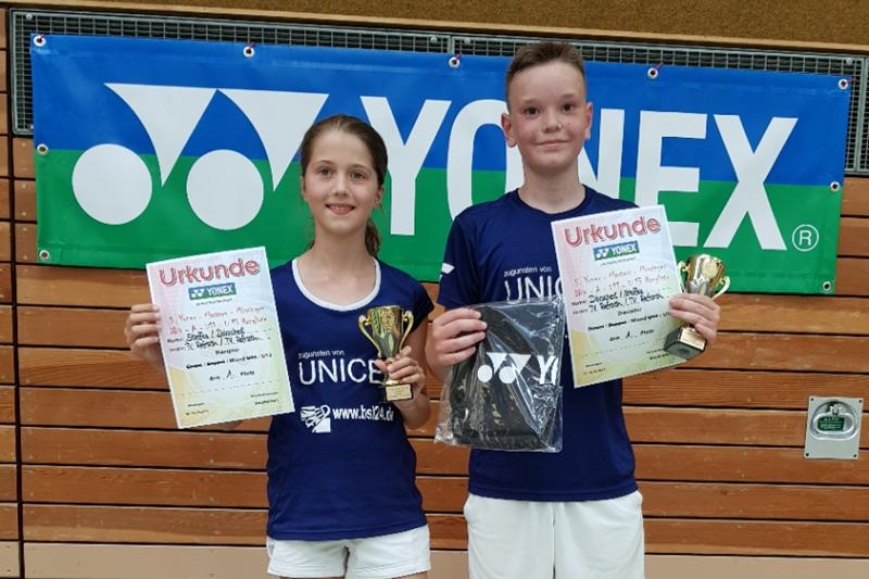 A-Rangliste in Mössingen mit drei Refrather Turniersiegern