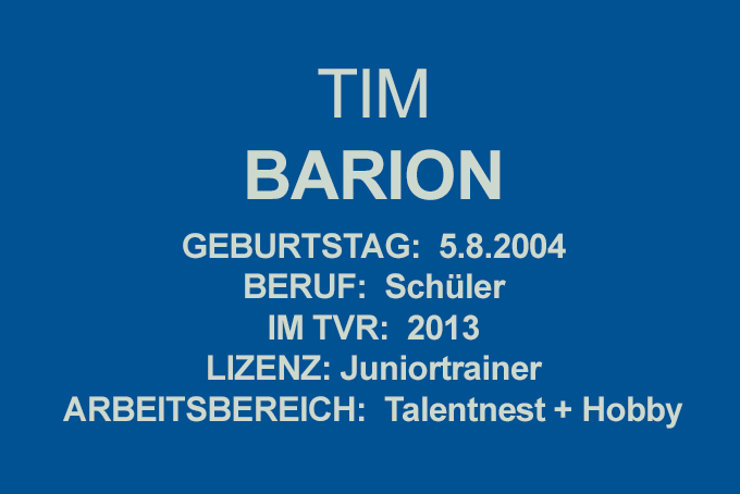 Tim Barion