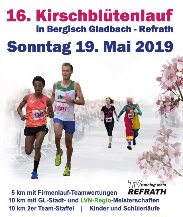 16. Kirschblütenlauf 2019