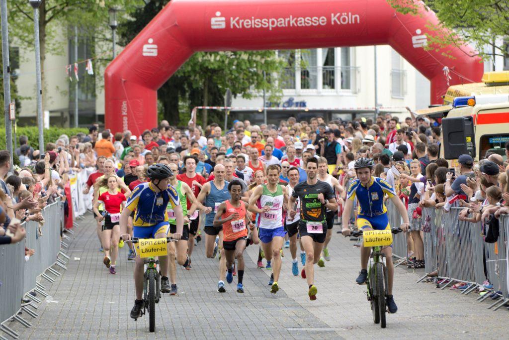 15. Kirschblütenlauf 2018 - 10 km Start