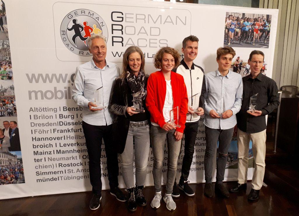 GRR Tagung 2017 - Würzburg - Läufer des Jahres Ehrung 1
