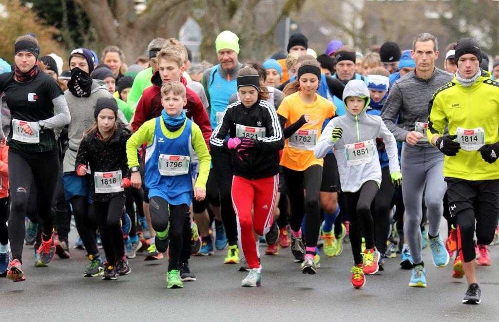 Start Königsforst Marathon