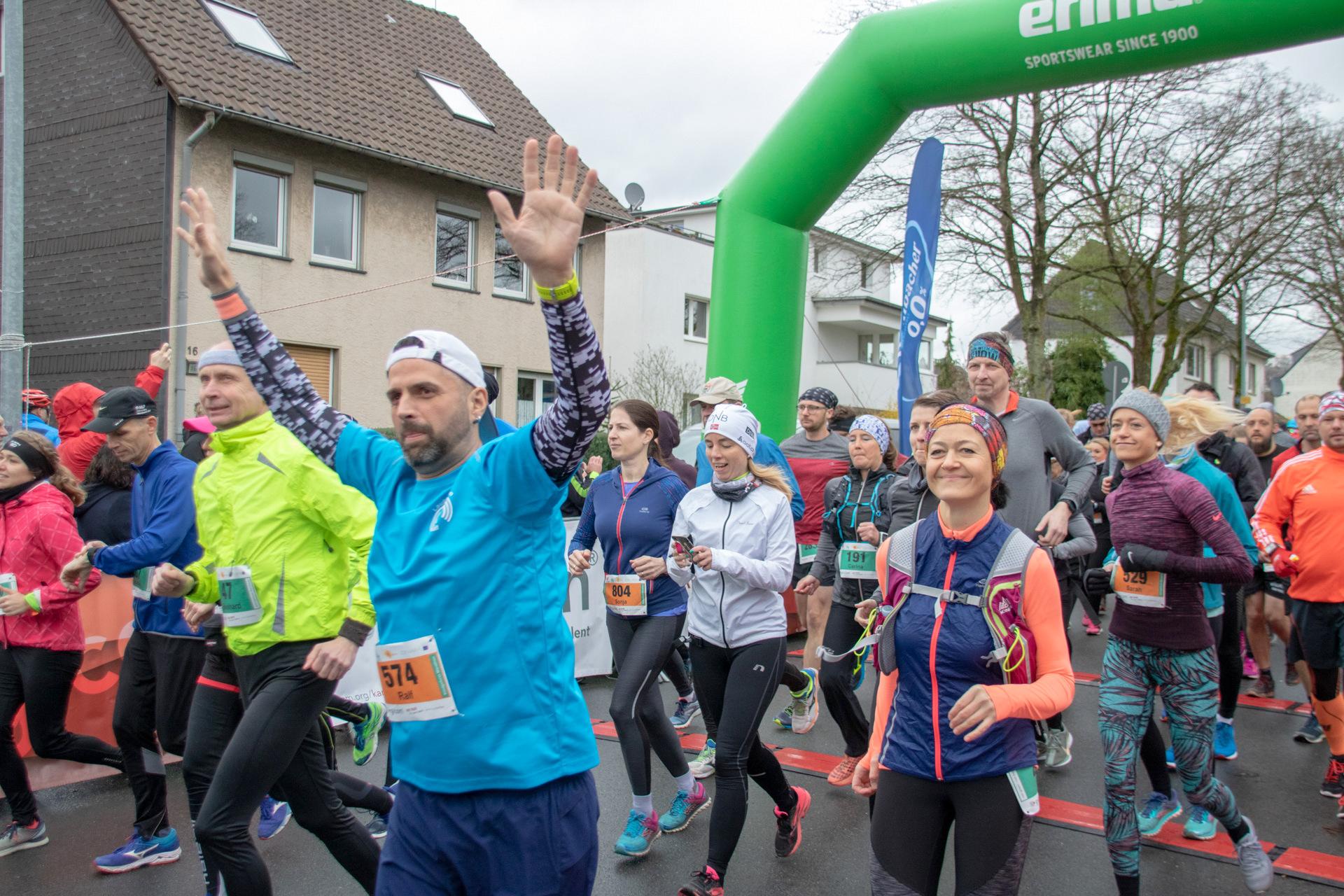 45. Königsforst-Marathon - Start HM-M - über 1000 rennen los 1