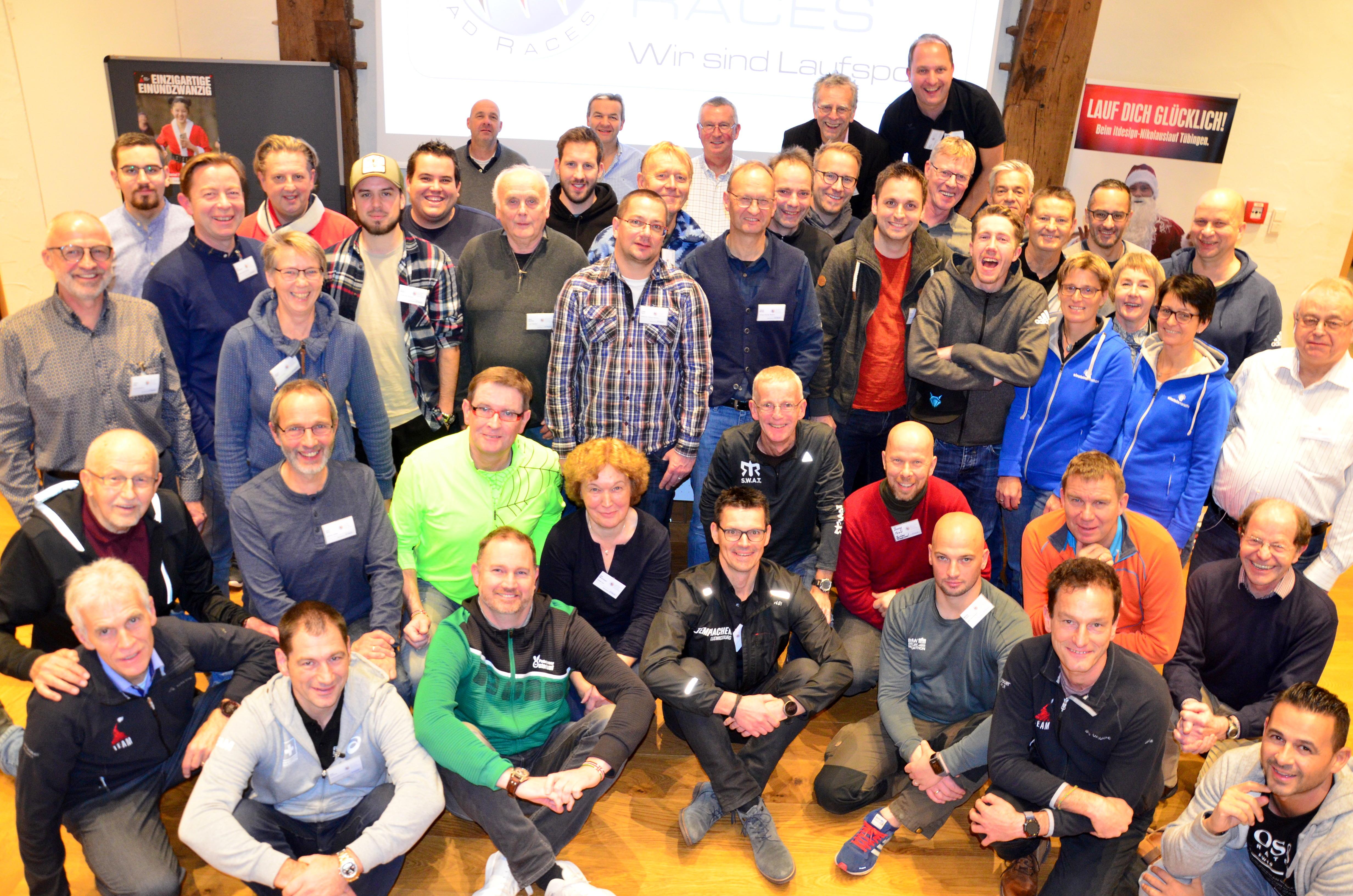 German Road Races Tagung 2019 - Tübingen - Gruppenfoto