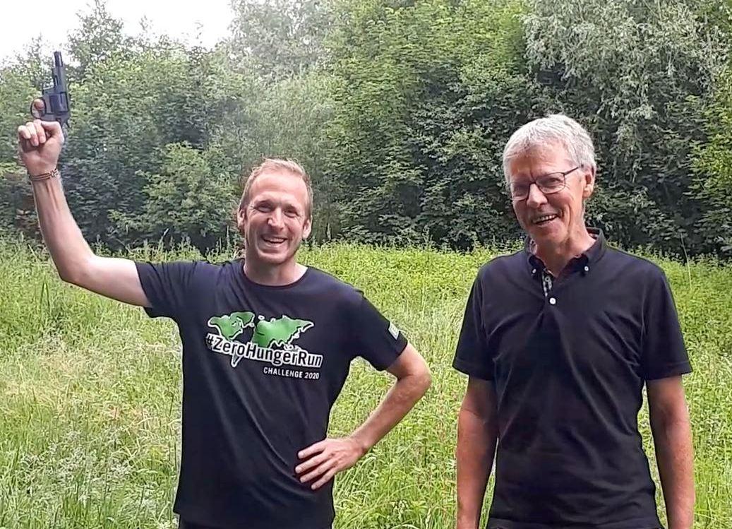 #ZHR Challenge 2020 - Startschuss mit Jan Fitschen und Jochen Baumhof 1