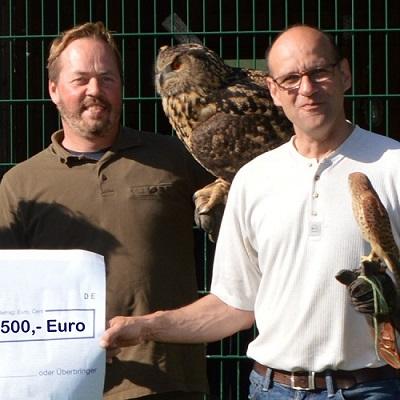 Spende an die Greifvogelhilfe