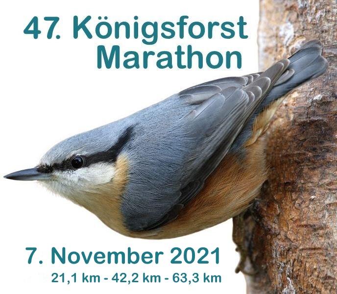 Königsforst - Marathon 2021