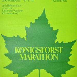 Königsforst Marathon 1975