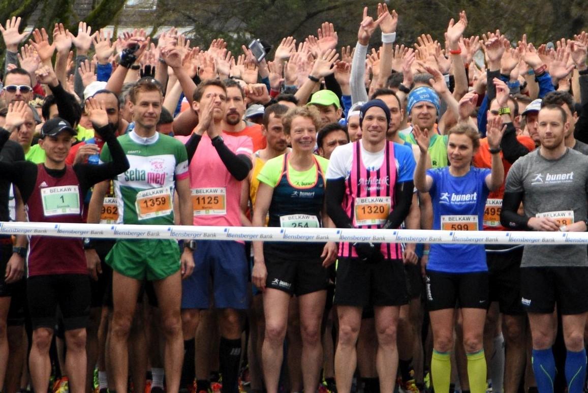 Start zum Königsforst Marathon