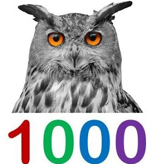 1000 mit Uhu