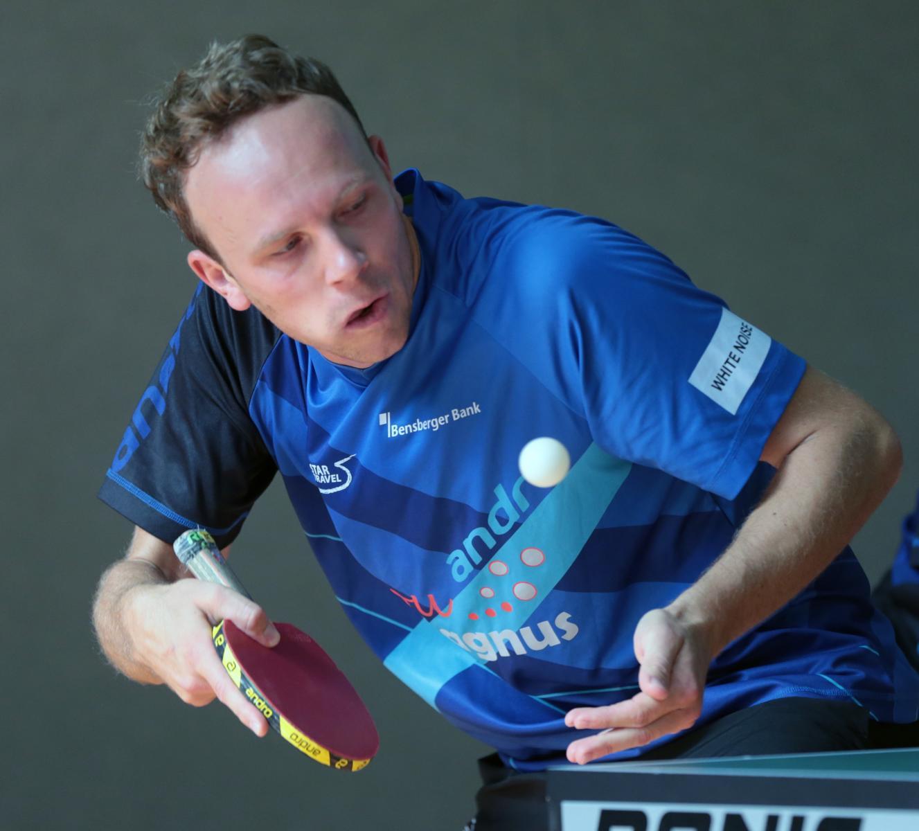 sport Tisch Tennis NRW LigaTV Refrath Jakob Eberhardt