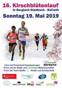 16. Kirschblütenlauf 2019 - Titelseite