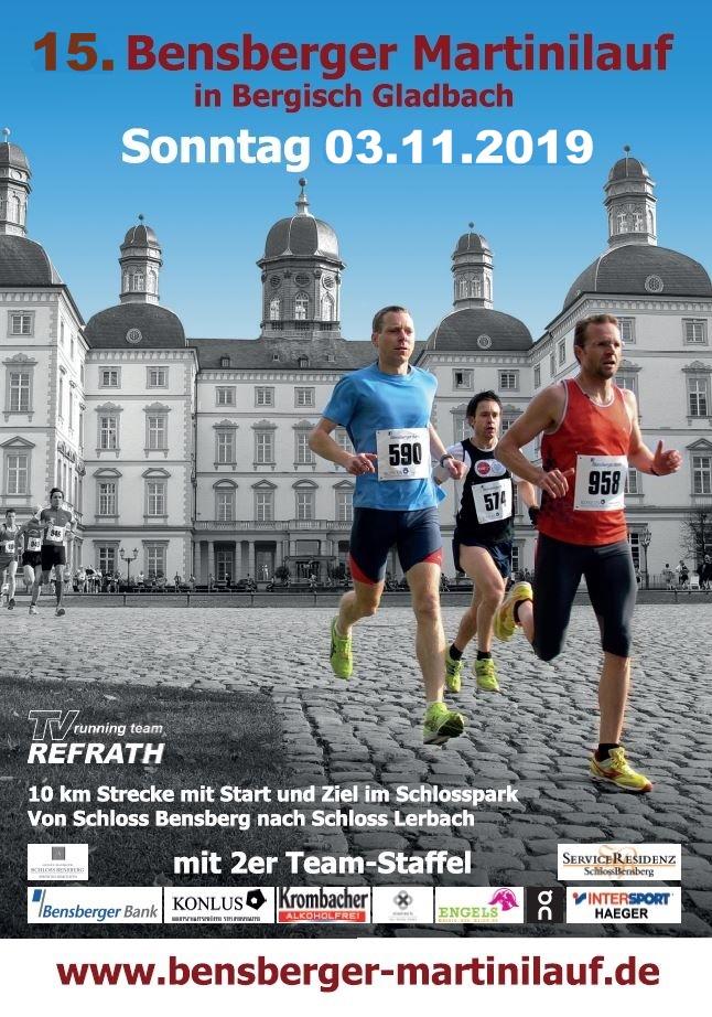 Bensberger Martinilauf 2019 - Titelseite
