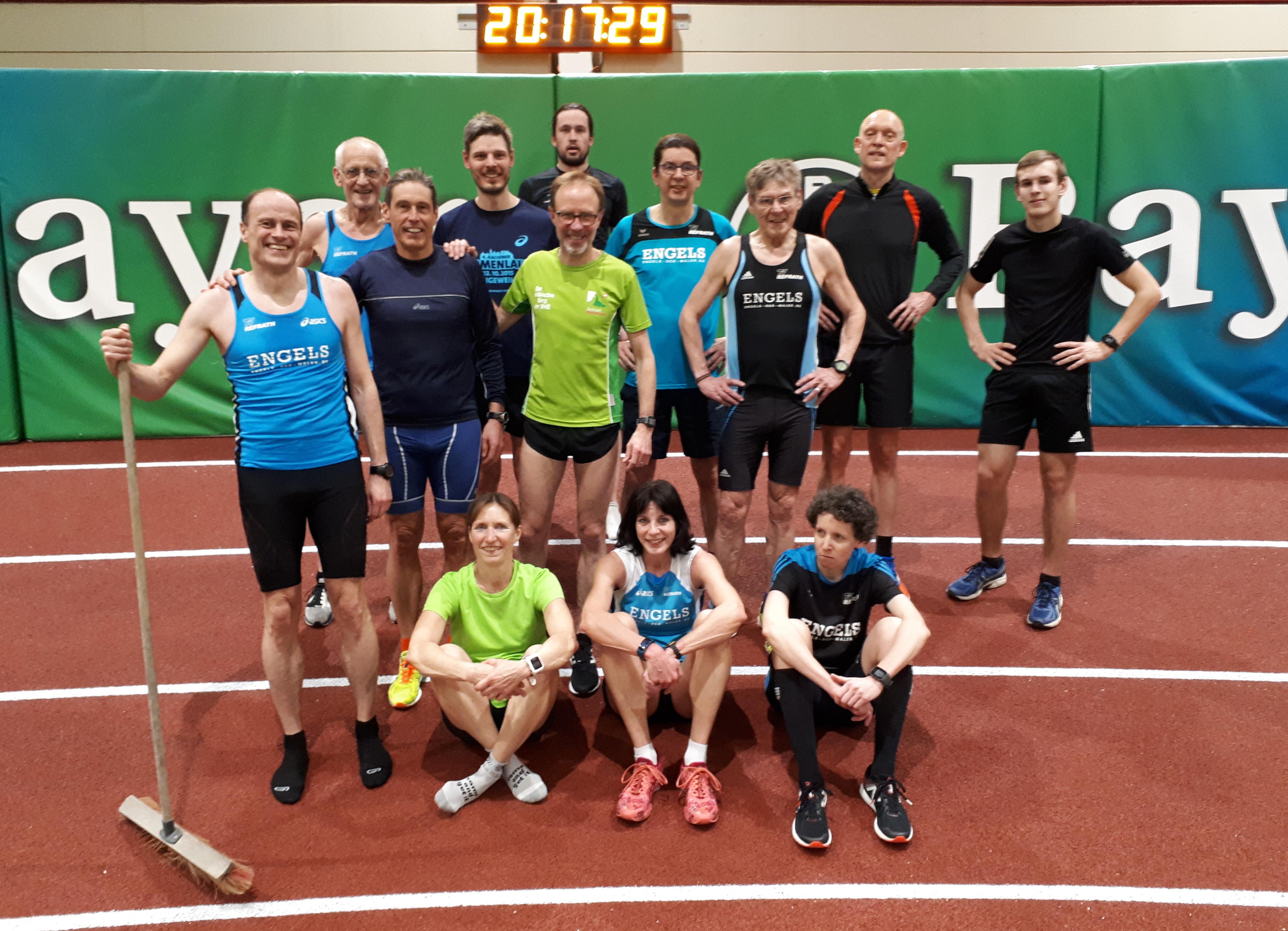 TVR running - Hallen-Abschluss-Training 2019
